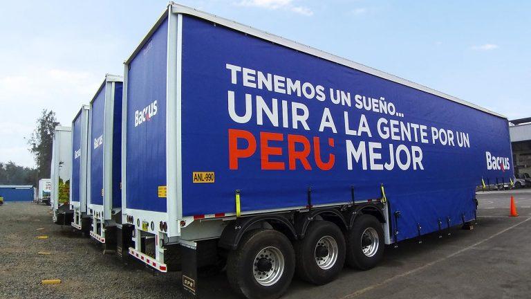 Cortina de camiones